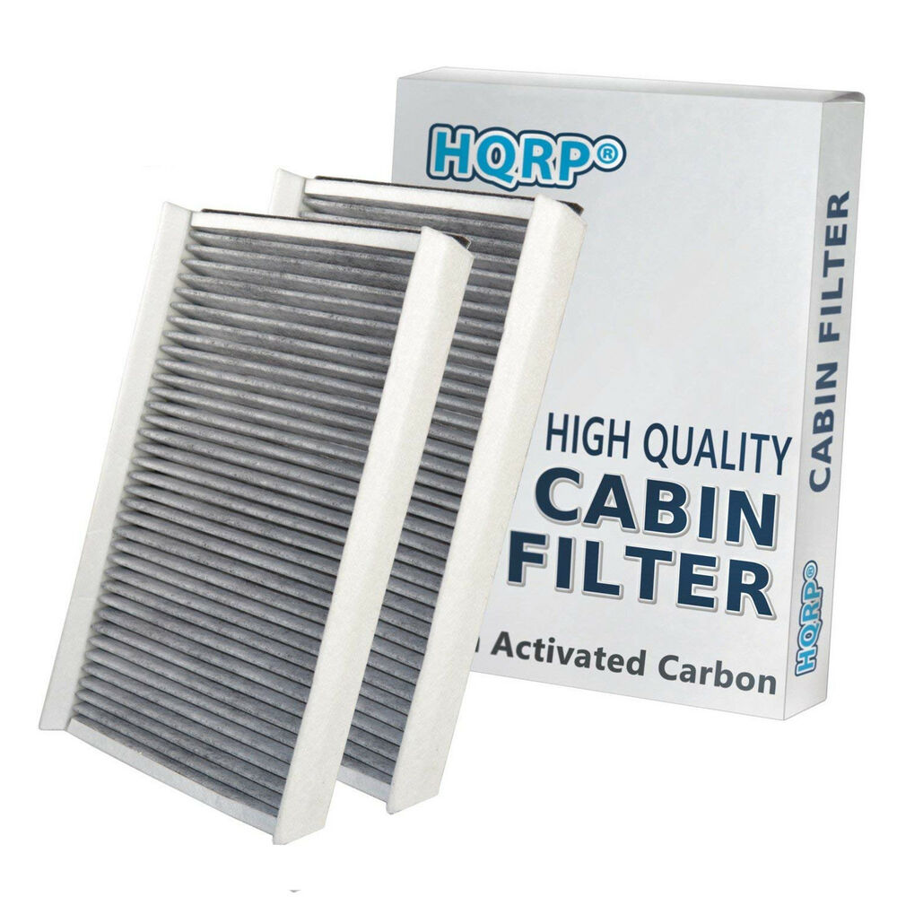 2-Pack HQRP Microfilter Set Filter Dust Odors Air Cabin A/C for BMW 5/6 Series | eBay