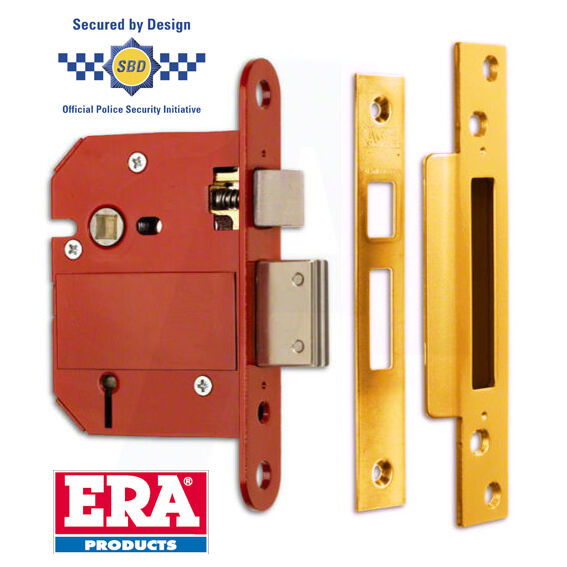 Era Fortress British Standard 5 Lever Door Lock Sash Lock