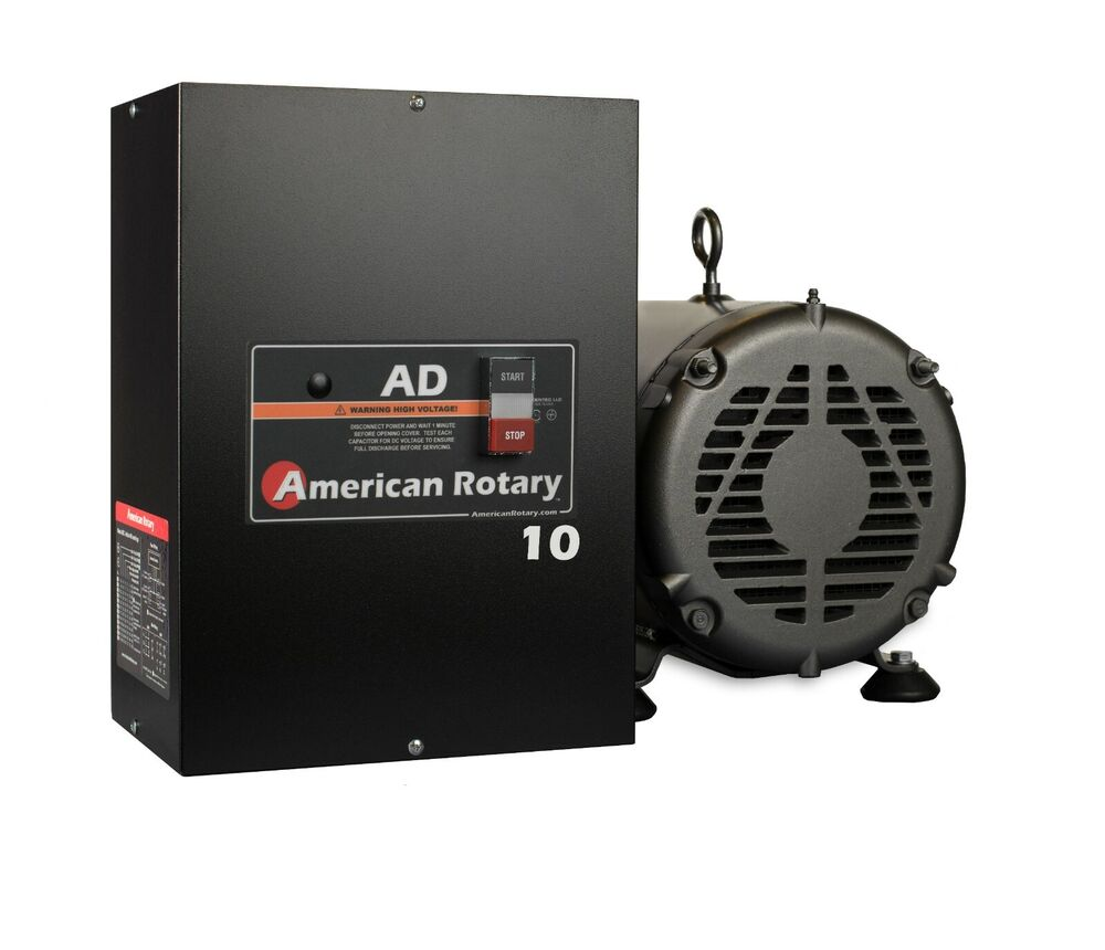 rotary phase converter ad10 10 hp digital controls heavy. Black Bedroom Furniture Sets. Home Design Ideas