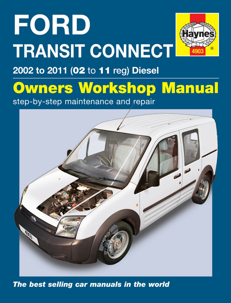 haynes workshop repair manual for ford transit connect diesel 02 rh ebay co uk Ford Grand Tourneo Connect Titanium Ford Tourneo Connect Lowered
