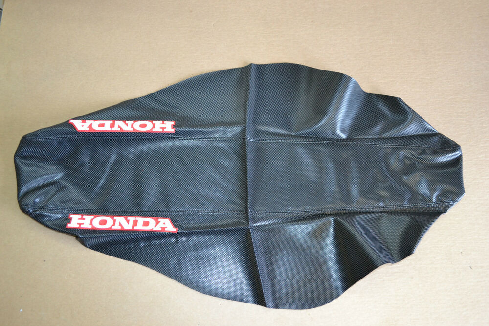 one industries team geico honda seat cover crf250r 2004 2009 2005 08 crf450r ebay. Black Bedroom Furniture Sets. Home Design Ideas