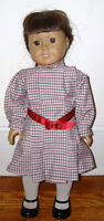 AMERICAN GIRL DOLL Lot Clothes SAMANTHA Dress RETIRED AG Belt Shoes Pleasant Co.