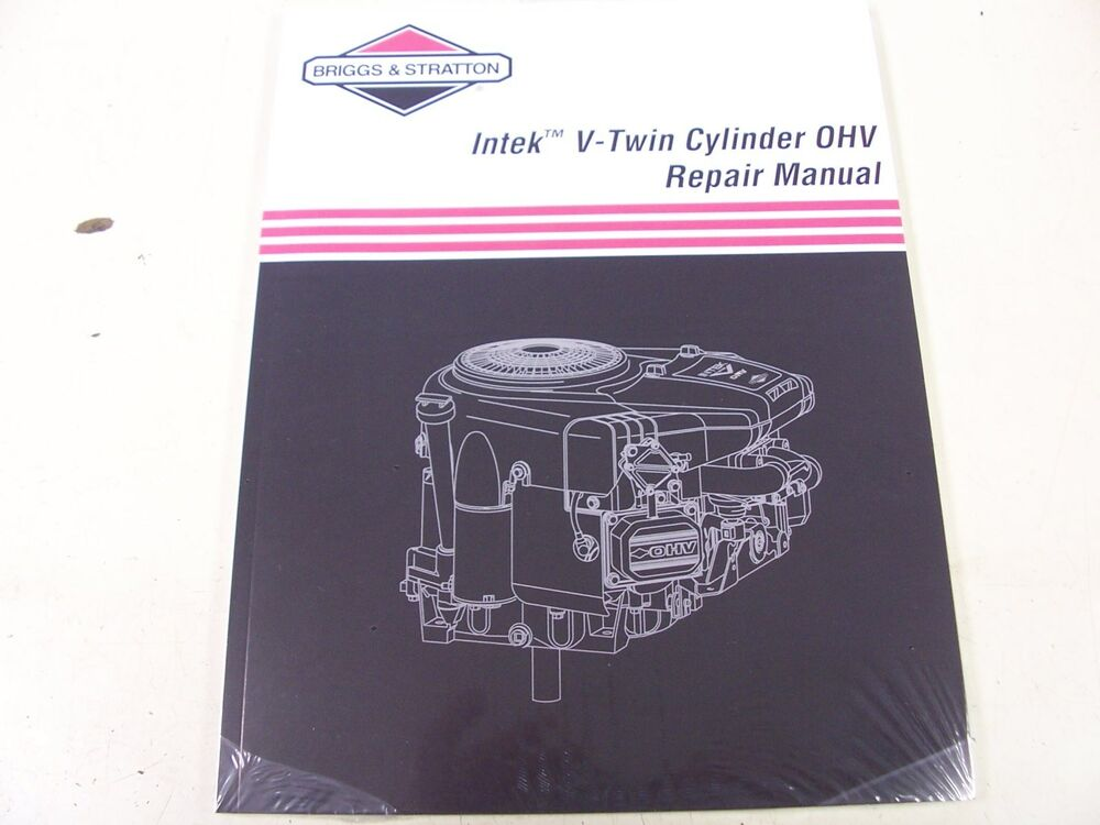 Briggs  U0026 Stratton Engine Ohv Repair Manual  273521  New  24847255102