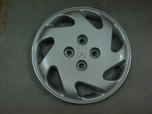 honda civic wheel covers hub caps oem new 14 ebay. Black Bedroom Furniture Sets. Home Design Ideas