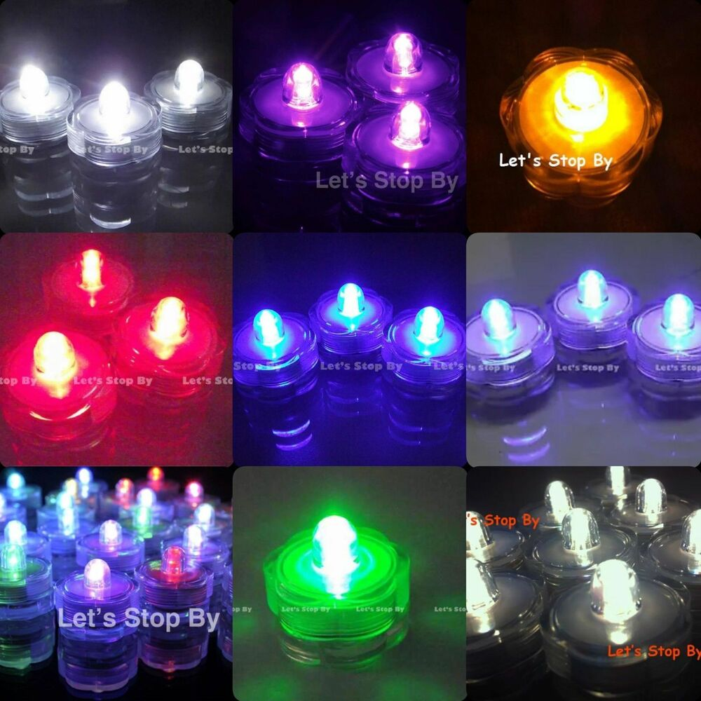 led lights for wedding decorations 24 led submersible waterproof wedding floral decoration 5446