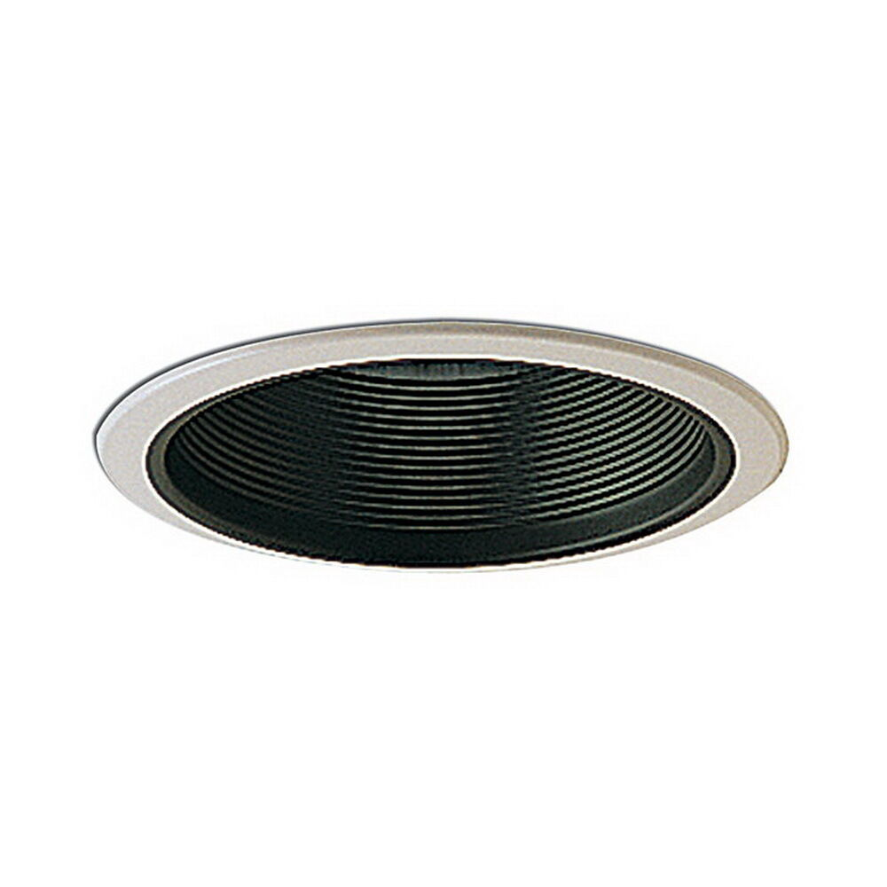 of 12 6 black baffle br40 recessed can trims to replace halo ebay