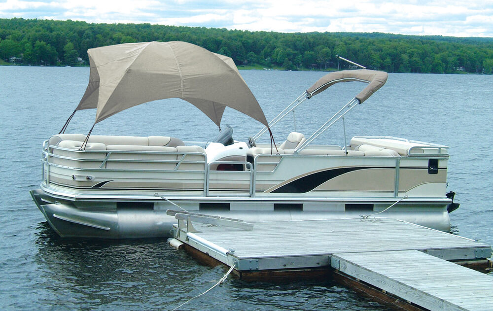 Pontoon Boat Gazebo Sun Shade Cover Uv Protection Made In