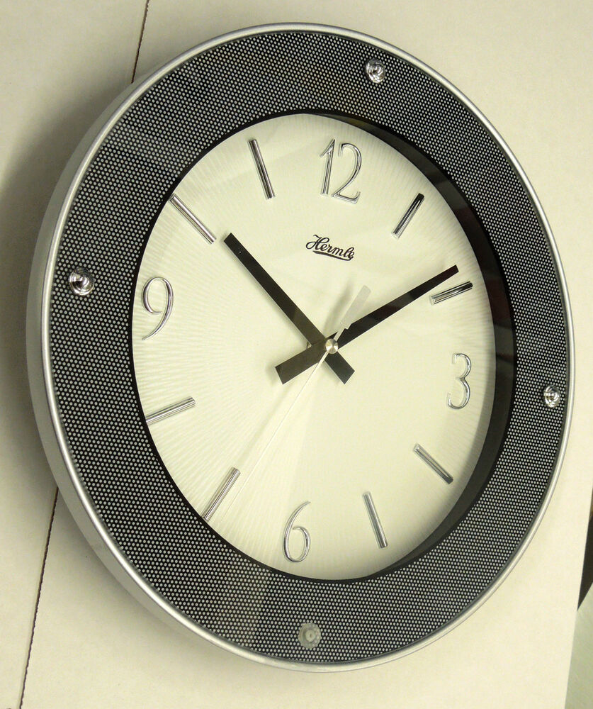 Contemporary Looking Round Wall Clock Made By The