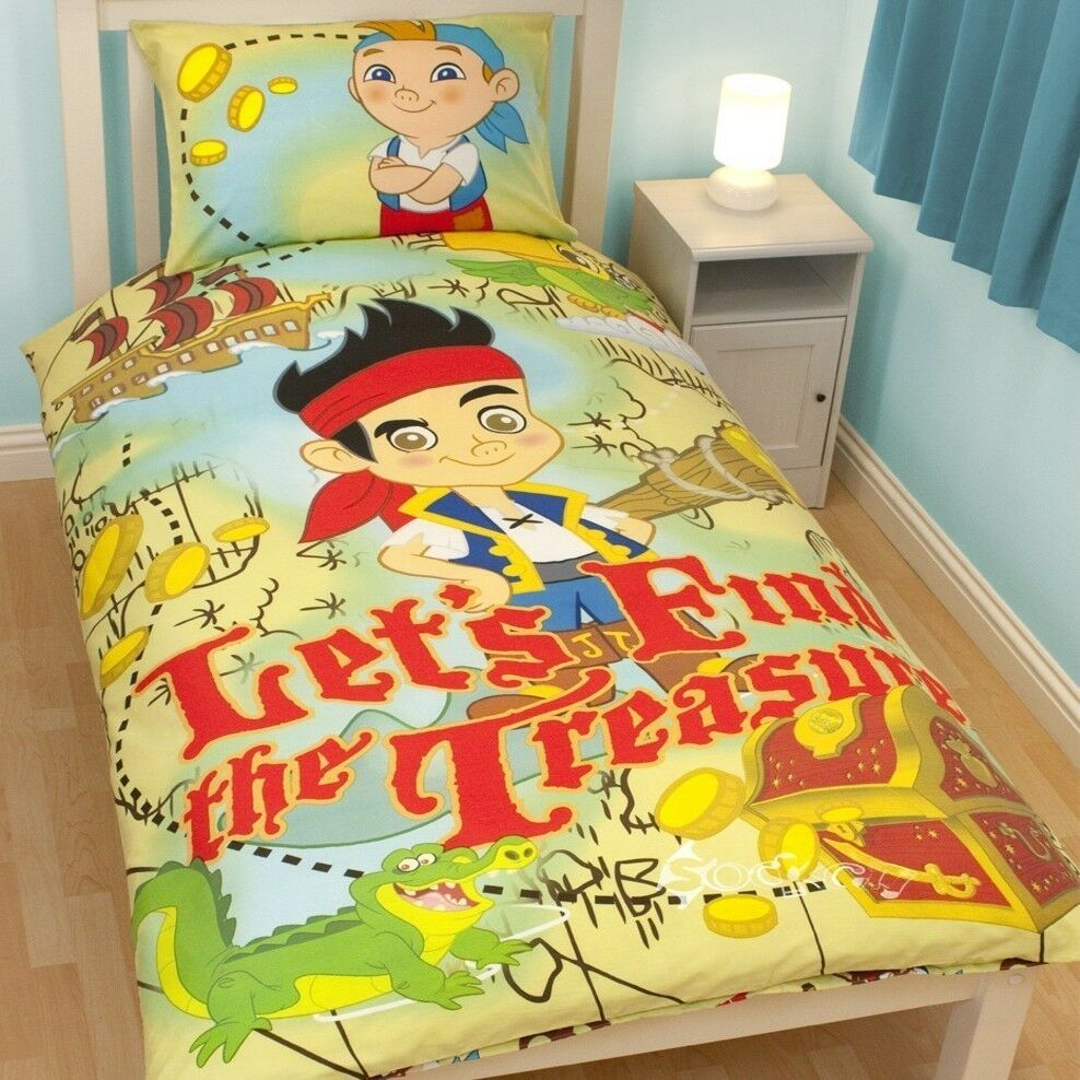 Jake And The Neverland Pirates Bed Set