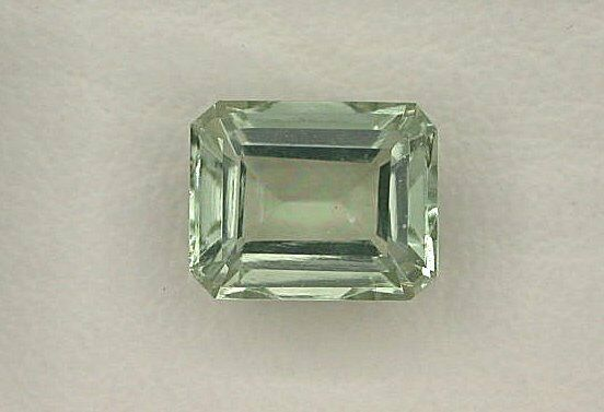 One 10x8 Emerald Cut Octagon Green Amethyst Gem Stone
