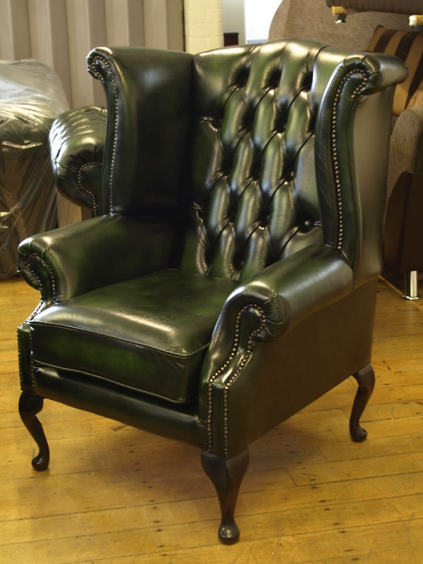 Chesterfield Leather Suite Chair Sofa B New Ebay