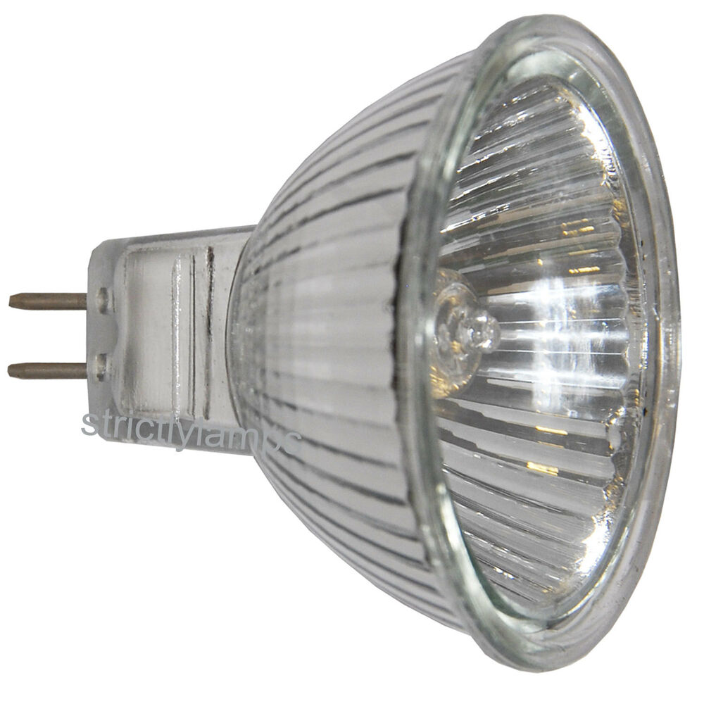 5 X Mr16 20w Halogen Light Bulbs 12v Low Voltage Bulbs Ebay