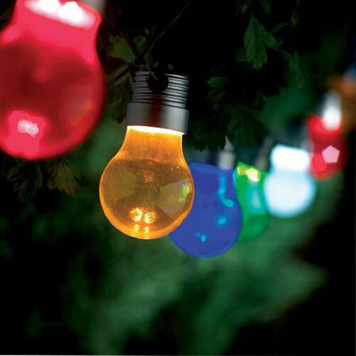 10 revolution led decorative string light bulb coloured - Led light bulbs for exterior use ...