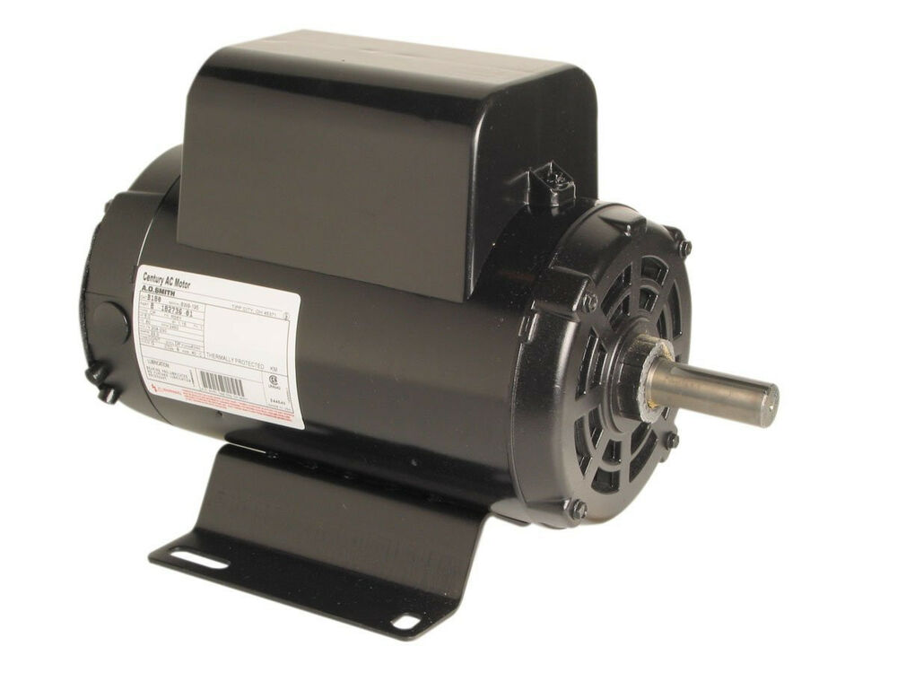 Century B384 Air Comp Motor 5hp 3450 Rpm 208 230v Ebay