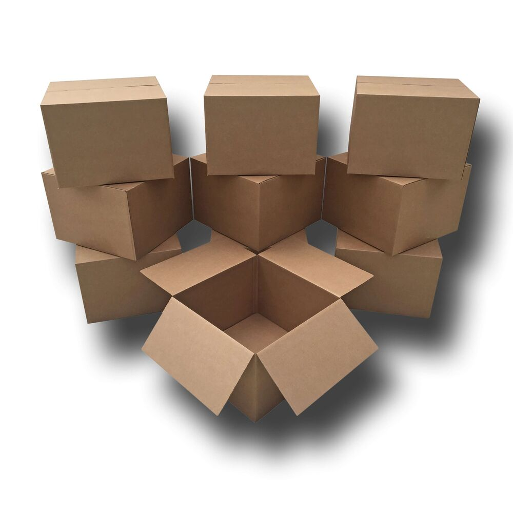 moving boxes 10 extra large moving boxes 23x23x16 standard corrugated moving ebay. Black Bedroom Furniture Sets. Home Design Ideas