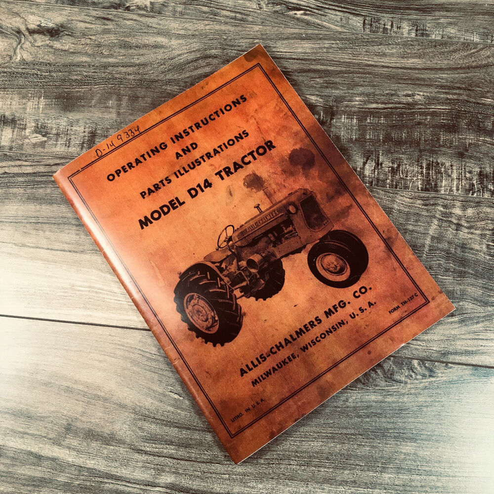 Allis Chalmers Lawn Mower Zeppy Io Model 2690813 Wiring Diagram D14 Operating Operators Instructions Owners