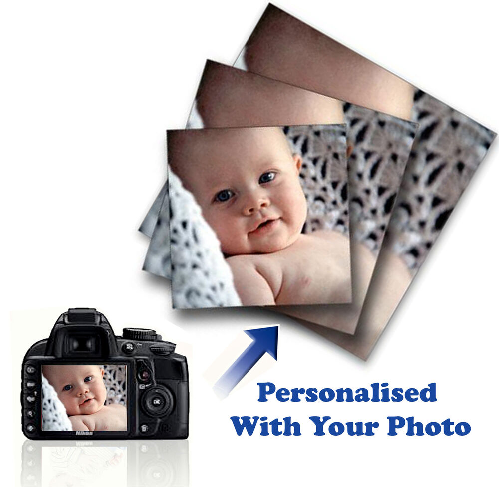 Large Personalised Framed Canvas Print Photo Image Picture