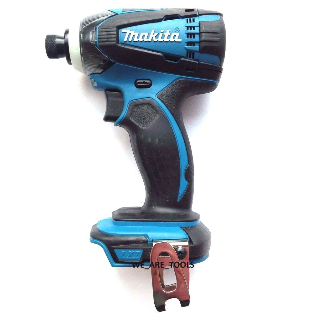 new makita 18v xdt04 cordless 1 4 impact driver drill 18 volt lxt 88381621441 ebay. Black Bedroom Furniture Sets. Home Design Ideas