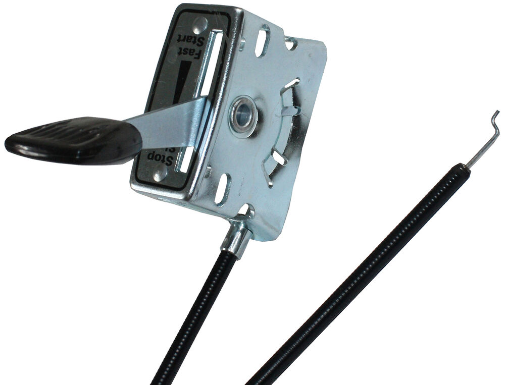 Control Cable Lever : Universal rotavator throttle lever quot cable