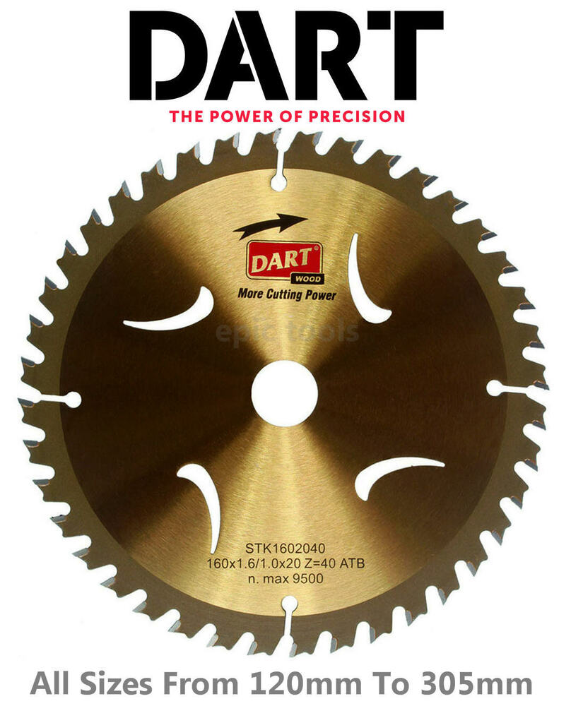Dart Gold Series Tct Wood Timber Cutting Circular Saw