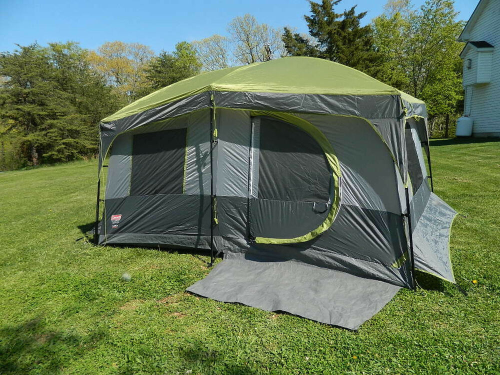 Coleman Max 8 Person Cabin / Family Camping Tent 13' x 9 ...