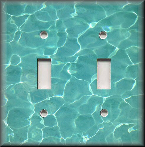Light Switch Plate Cover Cool Calm Swimming Pool Water