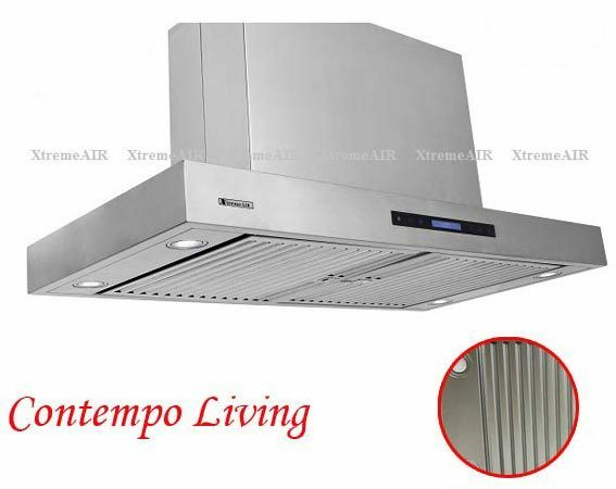 Xtreme Air 48 Quot European Style Island Mount Range Hood With