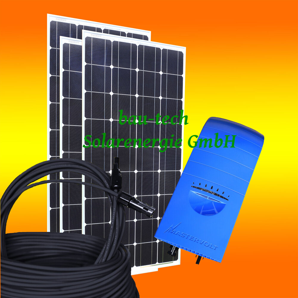 390wp solaranlage 230v photovoltaikanlage komplettpaket zur hausnetzeinspeisung ebay. Black Bedroom Furniture Sets. Home Design Ideas