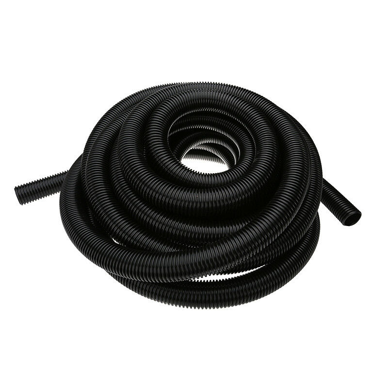 1 5 inch 38mm black corrugated flexible hose fish pond for Garden pond hose