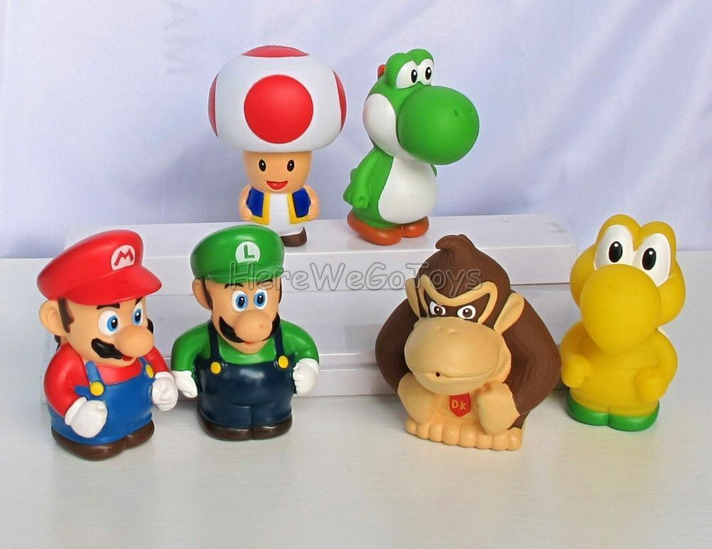 Mario Brothers Cake Topper Figures