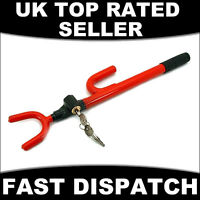 ANTI THEFT HIGH SECURITY STEERING WHEEL LOCK CAR CROOK LOCKS NEW