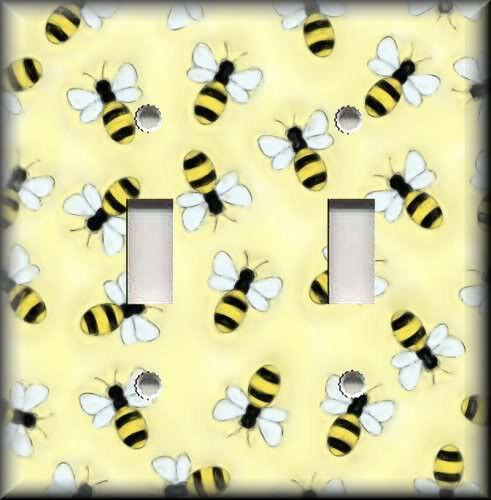 Http Www Ebay Com Itm Light Switch Plate Cover Bumble Bees Yellow And Black Home Decor 390592600405 Roken Cugayn