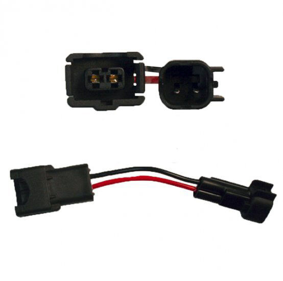 Fuel injector electrical connector adaptor ev jetronic