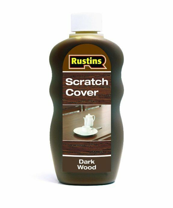 Rustins Furniture Scratch Cover For Dark Wood 300ml Blend Of Waxes To Polish Ebay