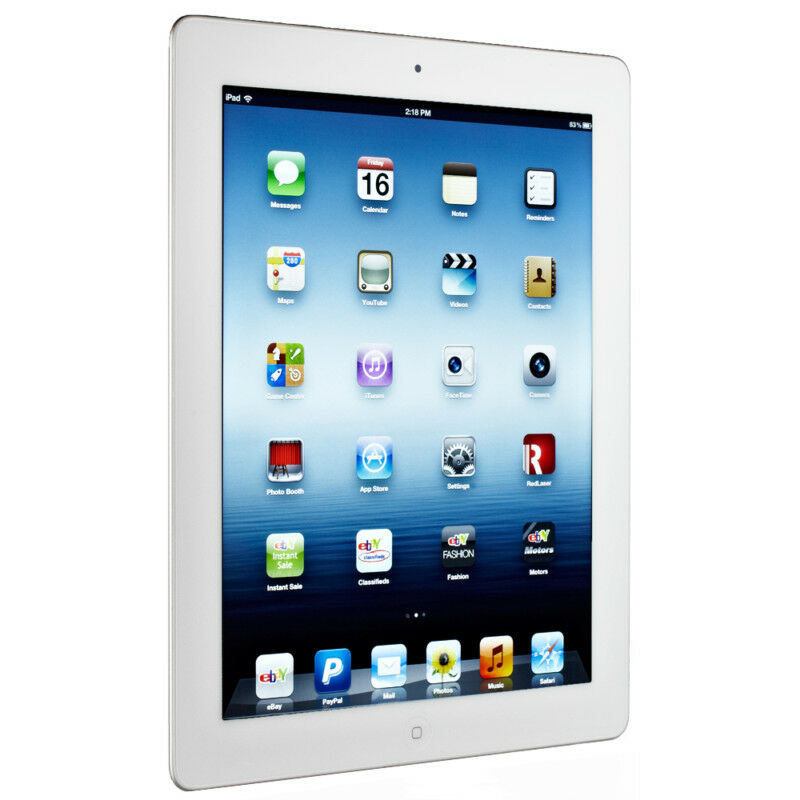 apple ipad 3rd generation 16gb wi fi white. Black Bedroom Furniture Sets. Home Design Ideas