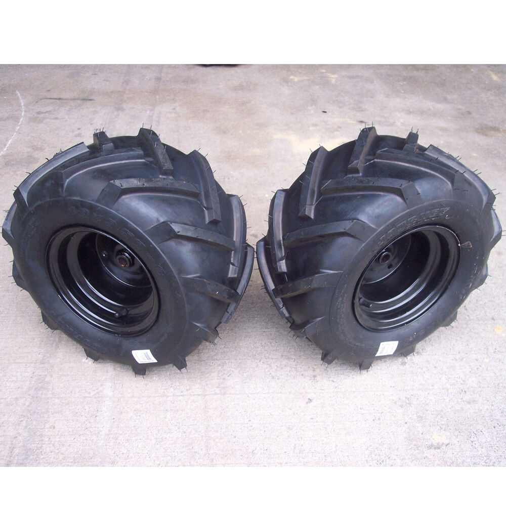 Tires Rims Wheels Assembly Garden Tractor Riding