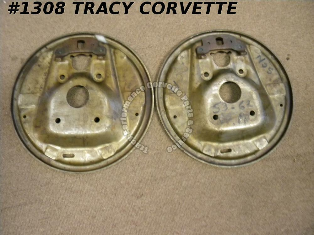 Chevy Truck Brake Backing Plate : Chevy corvette nos brake flange front