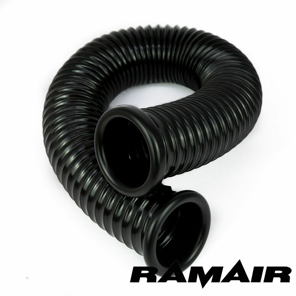 Ramair black cold air feed ducting hose pipe induction
