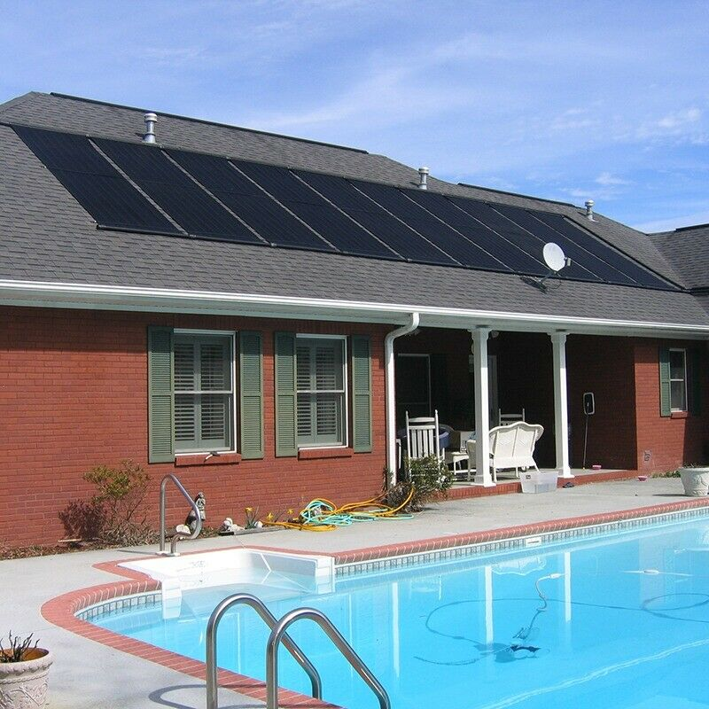 28 X20 39 Solar Swimming Pool Heater Panel For Inground Above Ground Pools Ebay