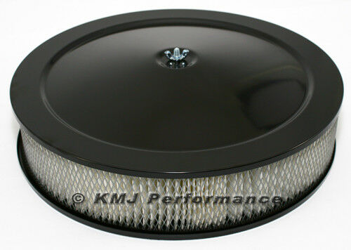 12 Round Air Cleaner : Quot round black air cleaner assembly recessed dropped
