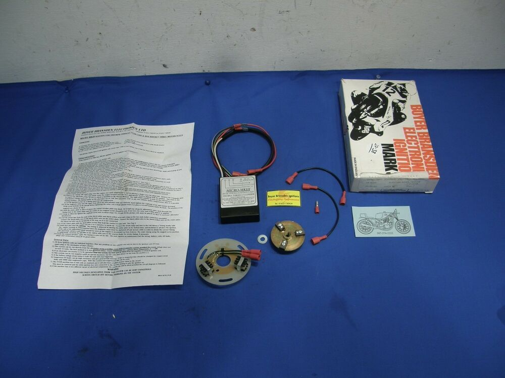 Bsa A75 Triumph T150 Electronic Ignition Mkiii Boyer