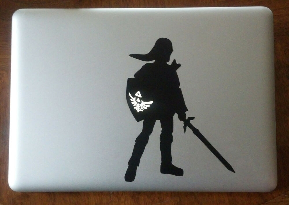 Zelda Link Vinyl Sticker Decal Macbook Pro Window Laptop