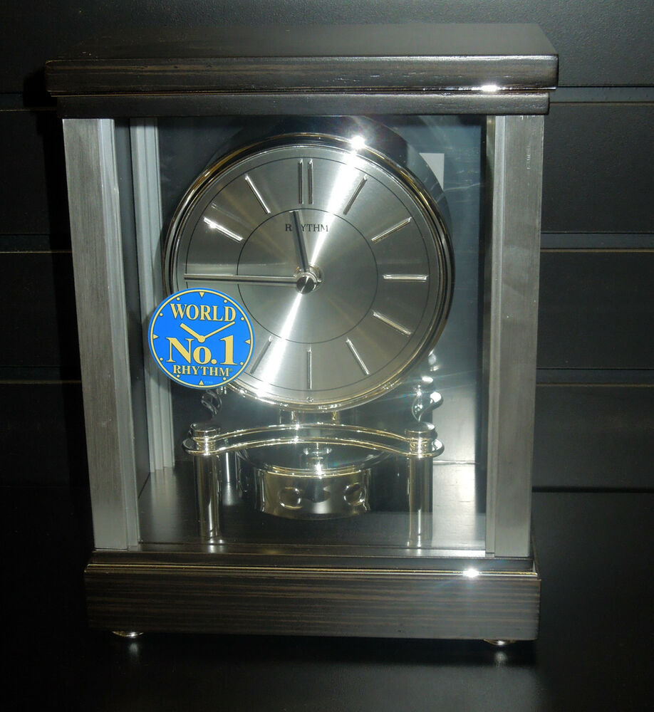 Mantel Clock By Rhythm Quot Clarity Quot Contemporary Clock