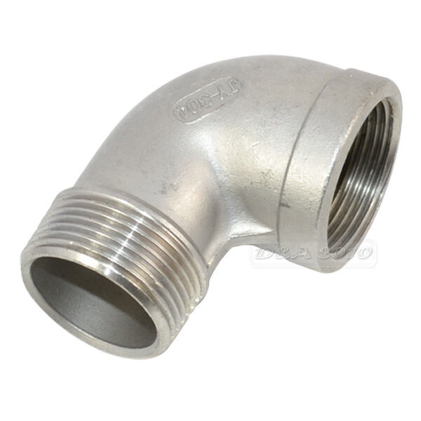 Stainless steel quot female male street elbow
