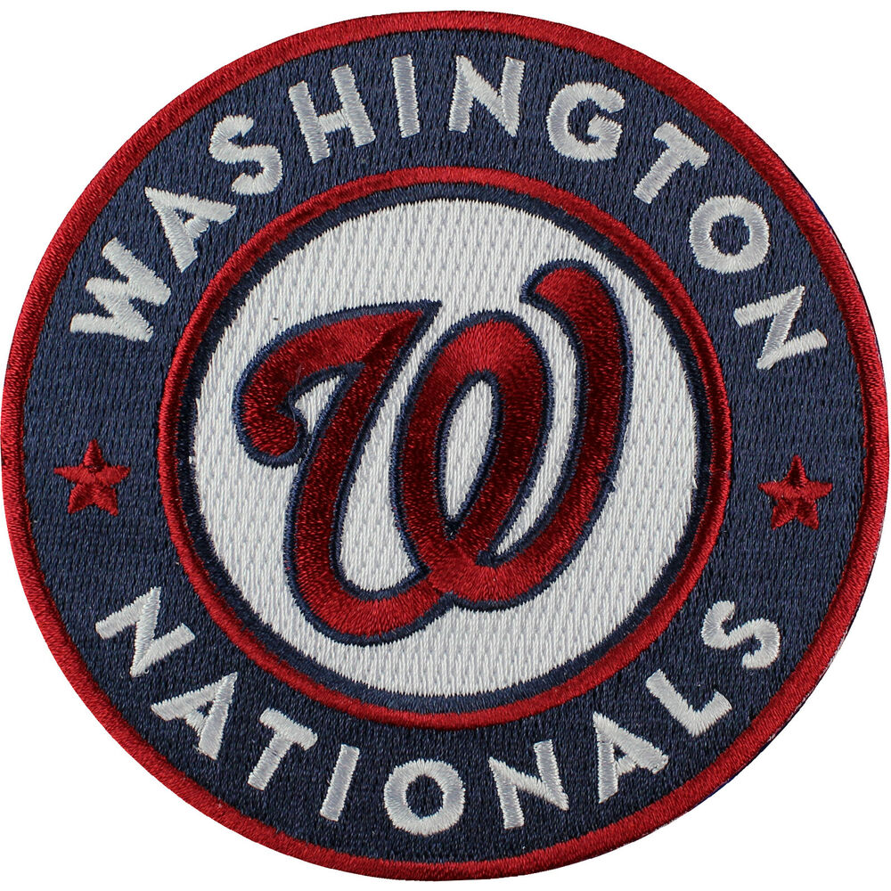 Offer Up Los Angeles >> 2011 Washington Nationals Sleeve Emblem Patch Jersey Road Home MLB Logo | eBay