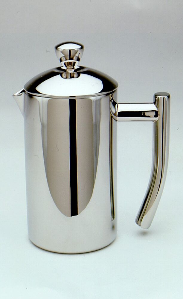 frieling 0102 french coffee press shiny 18 10 stainless steel 4 cup 17 oz 728547001020 ebay. Black Bedroom Furniture Sets. Home Design Ideas