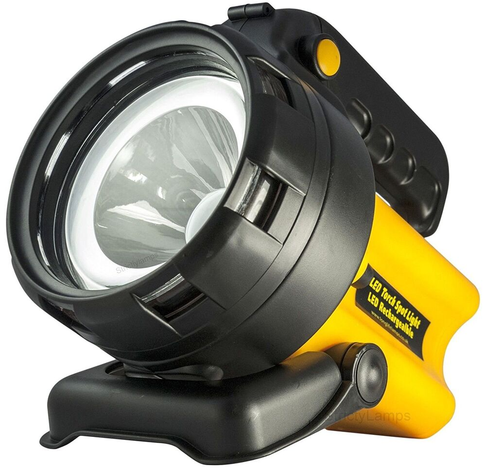Rechargeable Led Work Light Torch 1 Million Candle Power