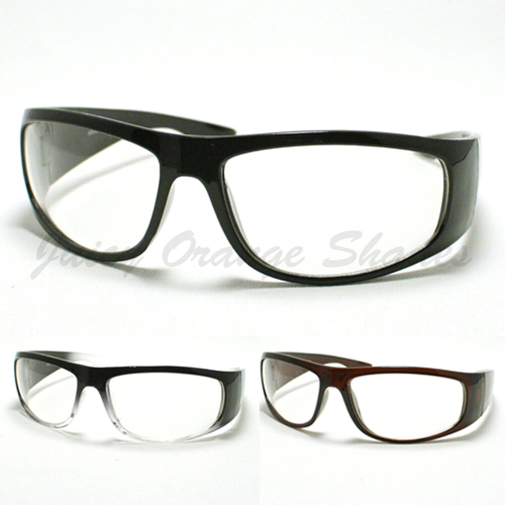 Men's clear lens sunglasses can be a terrific option, providing the protection that your eyes need without the dark tint. There is a vast inventory of men's clear lens sunglasses on eBay, with a number of exciting styles to choose from.