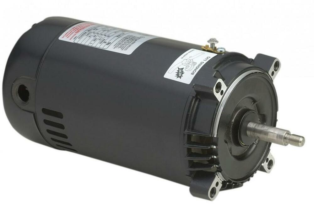 St1072 3 4 hp 3450 rpm hayward super pump ao smith for 1 2 hp pool motor
