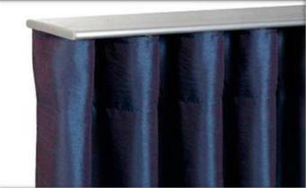 250cm Air Curtain Track Perfect Pleat Top Ceiling Fix